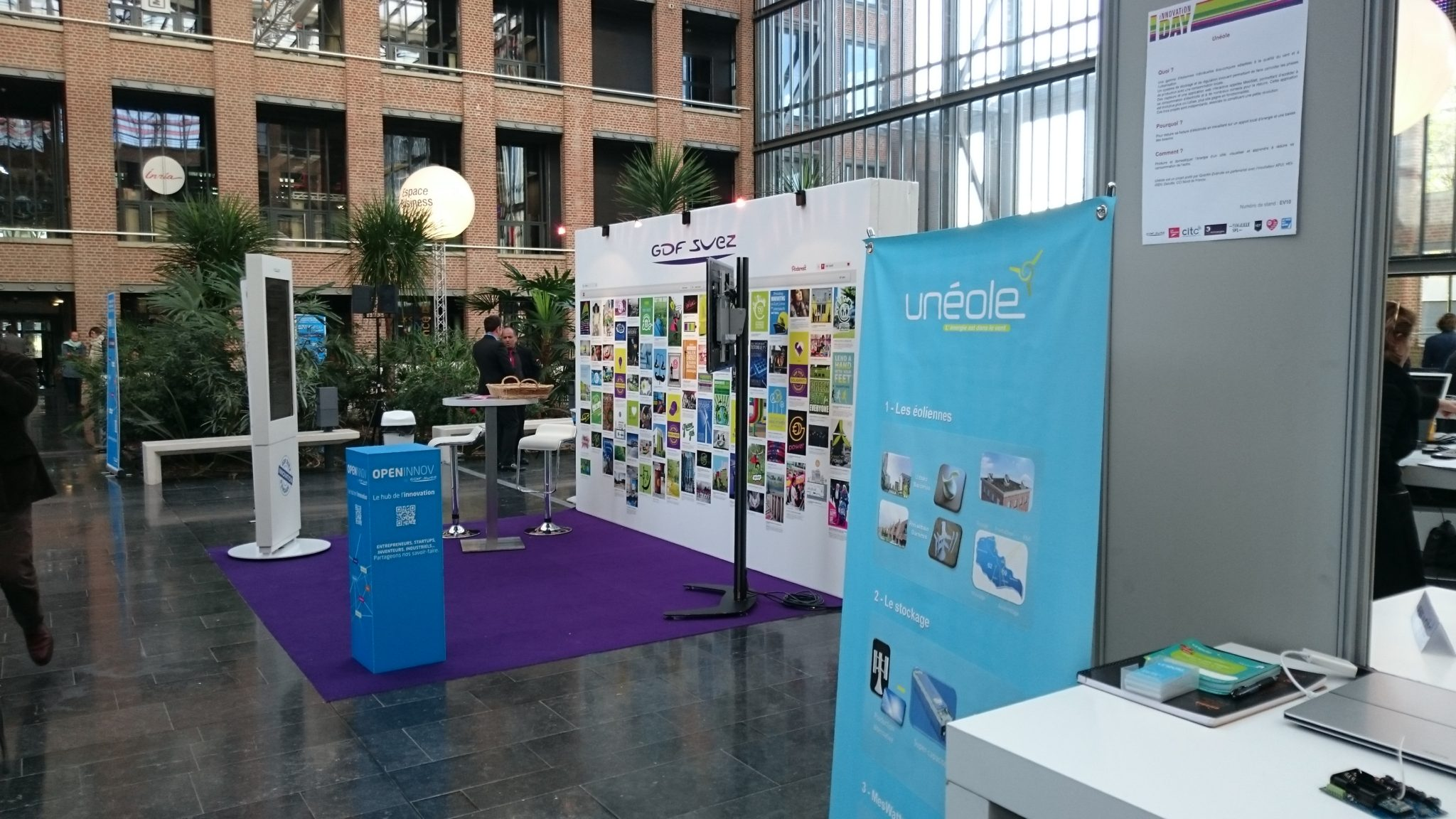 Unéole à Innovation Day by GDF-SUEZ