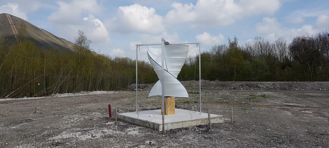 Lancement de la nouvelle éolienne au CD2E