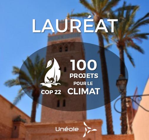 Unéole fait partie des 100 projets pour le climat !