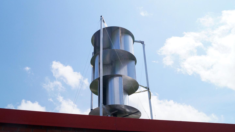 2-4 Evolution de l'éolienne : de la V1 à la V2